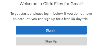 Citrix Sign In